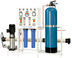 100 lph to 1000 lph industrial RO Plant; designed for drinking water
